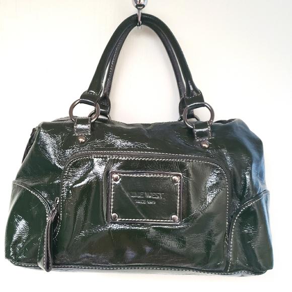 Nine West Patent Leather Handbag